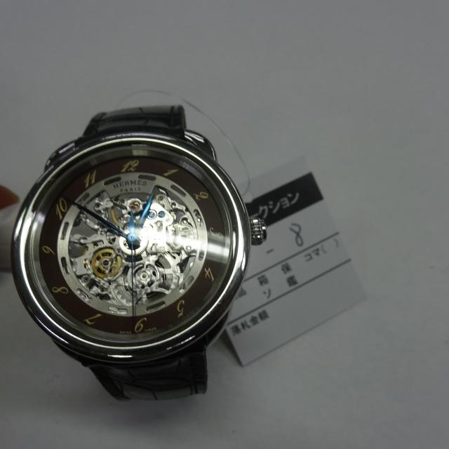 buy online 266f2 aa929 落札結果 日本時計オークション ブランド名: エルメス